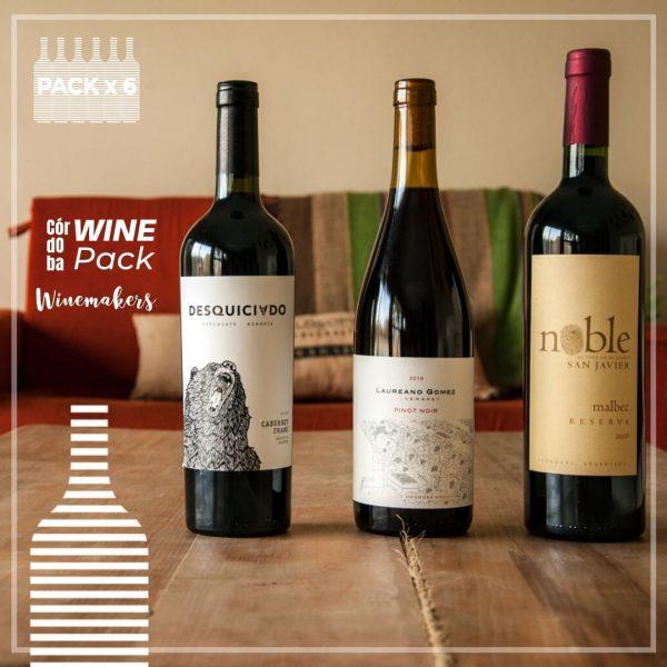 Córdoba Wine Pack Winemakers Pack x 6