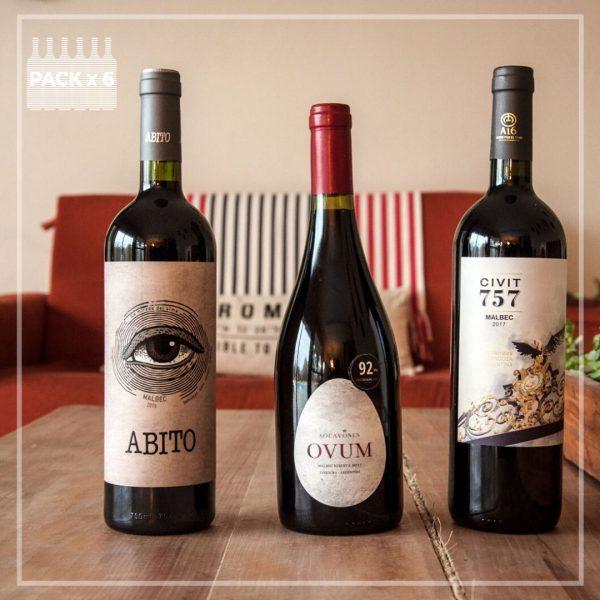 Enamorados del Malbec - Pack de vinos