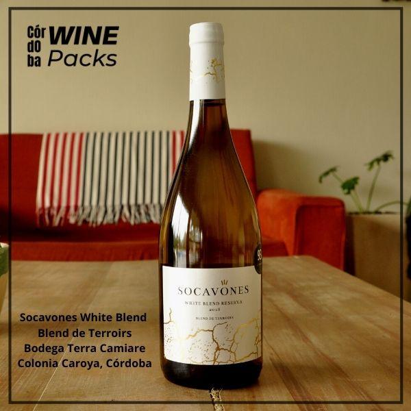 socavones white blend reserva