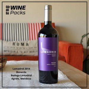 Vino Lamadrid Bonarda