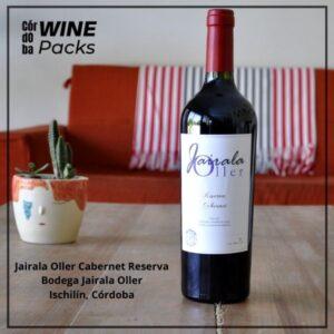 Vino Jairala Oller Cabernet Reserva