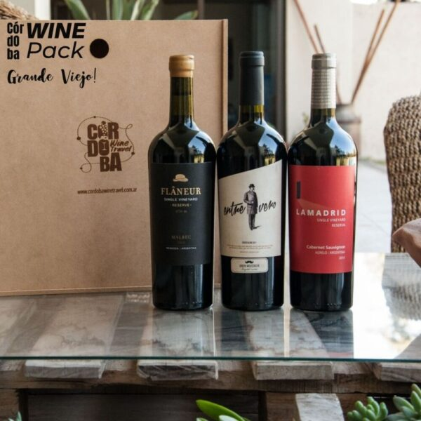 Wine Pack Grande Viejo