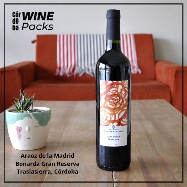 Vino Araoz de la Madrid Bonarda Gran Reserva