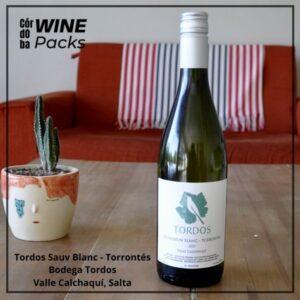 Vino Tordos Sauv Blanc Torrontés